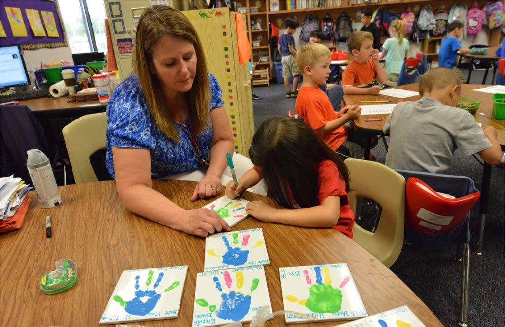 Allen ISD is rezoning elementary school boundaries as it constructs its 18th elementary school. (FILE PHOTO)