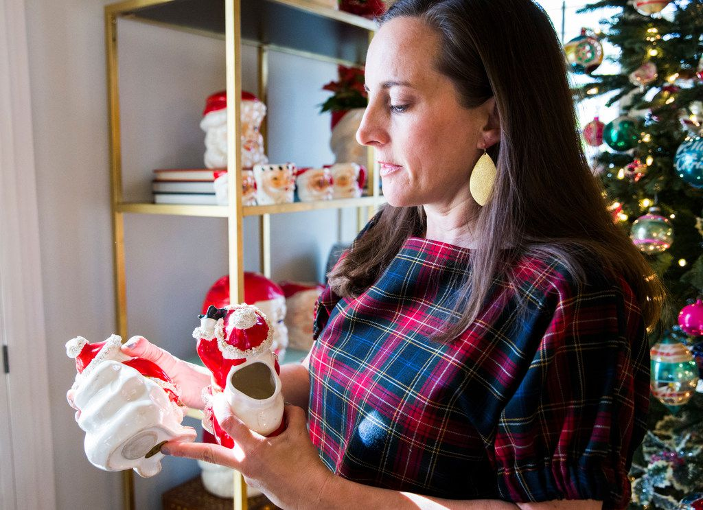 Caroline Nelson talks about her collection of vintage Christmas ornaments and decorations.