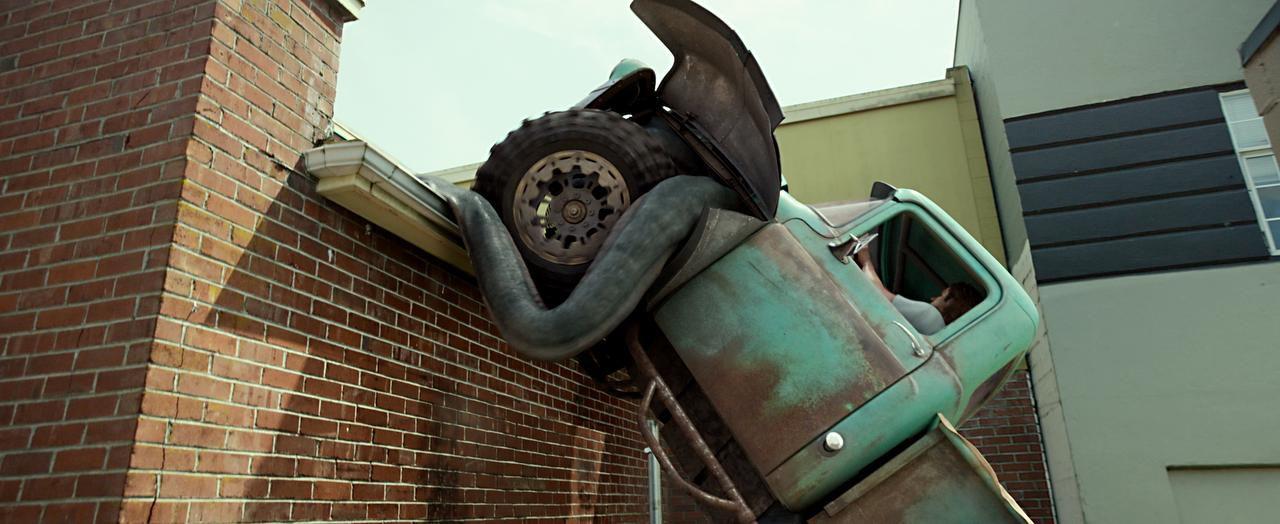 "Lucas Till interpreta a Tripp en ""Monster Trucks"", que se estrenó este fin de semana. (Paramount Pictures/FOTOS:)"