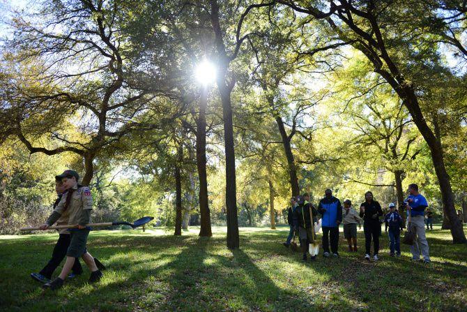 Plano's Bob Woodruff Park, in a 2013 file photo
