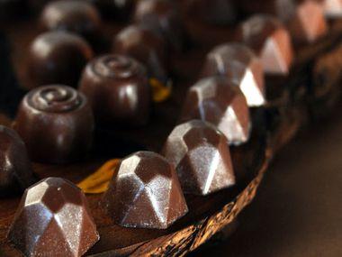 Chocolate truffles from Dude, Sweet Chocolate