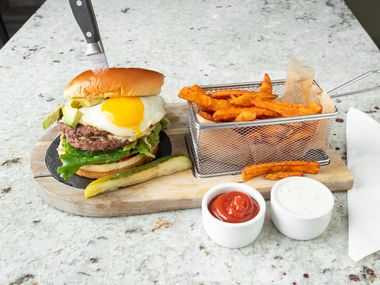The menu at Fairview Farmers will be similar to the one at Jessica's, a diner the Mixha family owns in Roscoe, Ill. The Rockford burger plate is a tribute to their hometown area in Rockford.