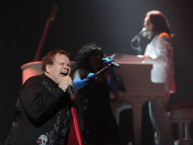 Meat Loaf performs at the House of Blues in Dallas on Aug. 26, 2010.