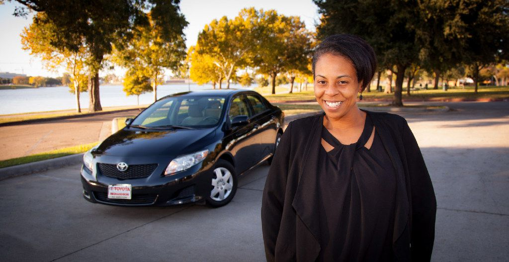 Erica Griffin, 40, has been an On the Road Lending client since November.