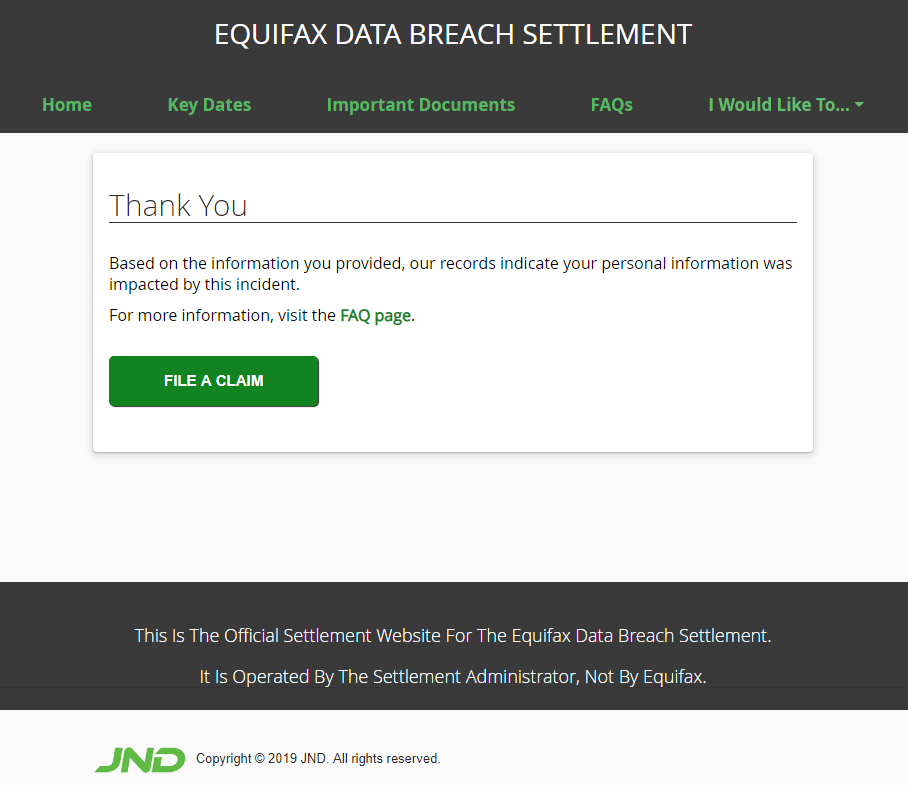 The Watchdog helps you decide if you want to apply for a small cash settlement or free ID theft monitoring in the Equifax data breach. (Courtesy of Identity Theft Resource Center)