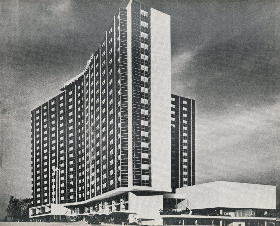 The Statler Hilton in 1954. (Dallas Morning News file)