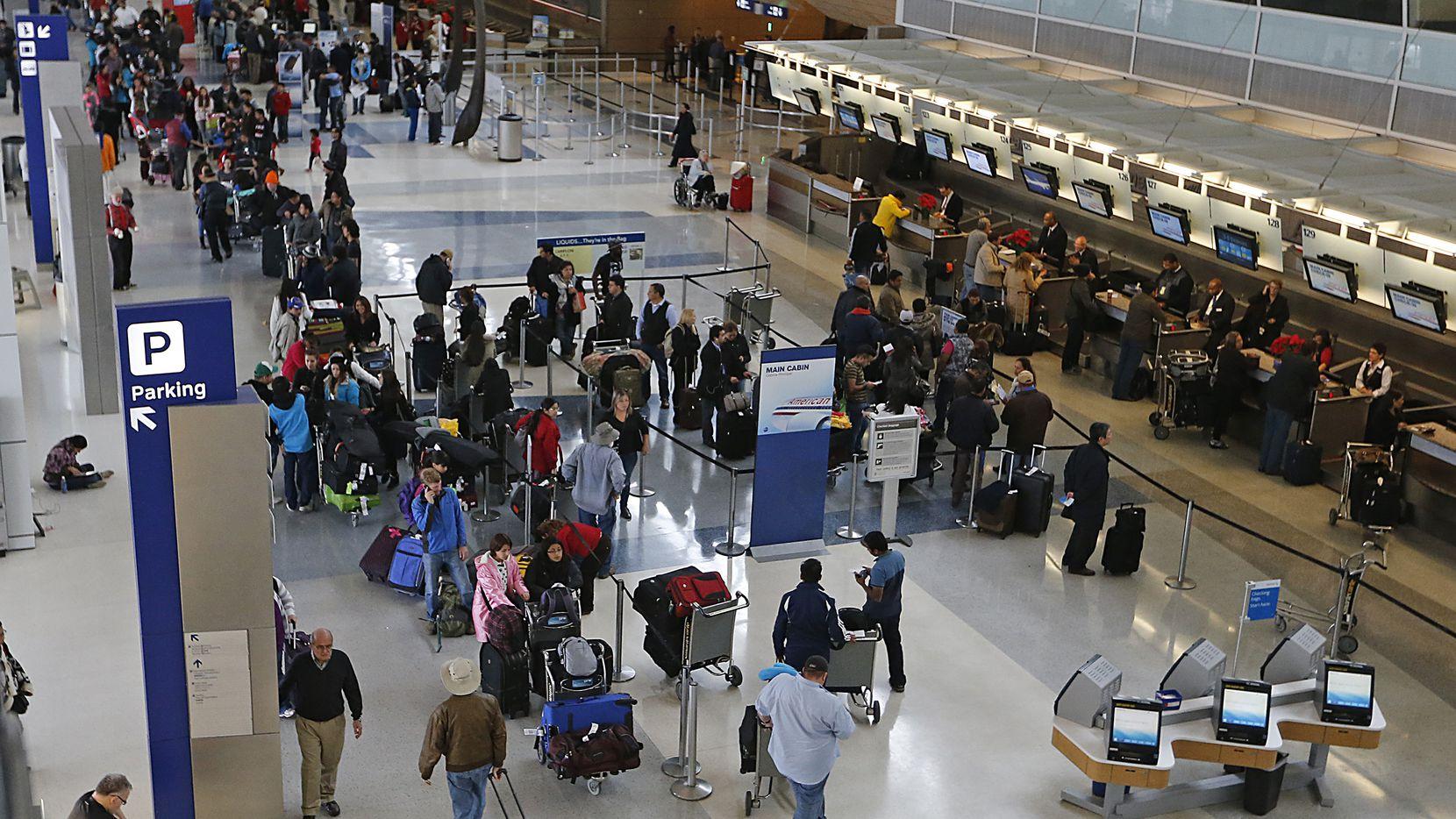 Terminal D del Aeropuerto Internacional DFW. GETTY IMAGES.