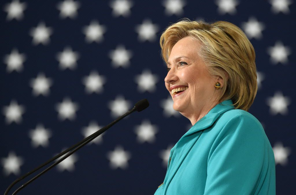 Hillary Clinton at a campaign event in Reno, Nev., in August.