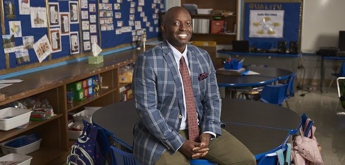 Eric Hale, a teacher at David G. Burnet Elementary School, was named the 2021 Texas of the Year. He is the first Black man to receive the honor in the state.