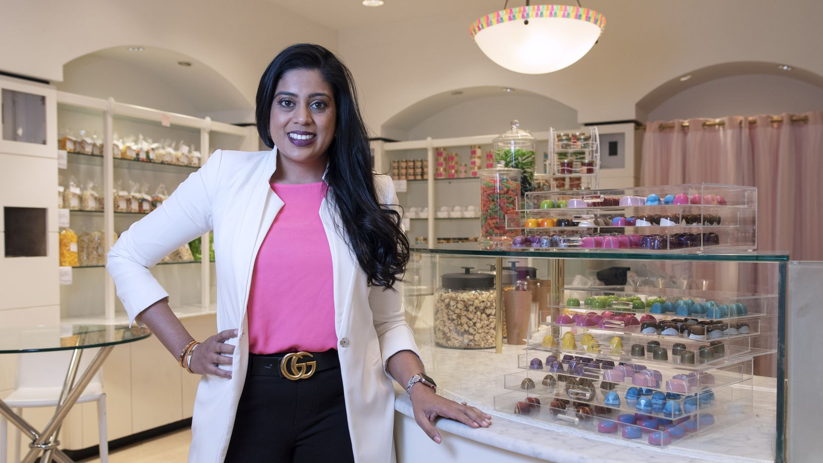 Yasmeen Tadia, who created Make Your Life Sweeter in 2013, opens her first store Nov. 6, 2020 in Dallas.