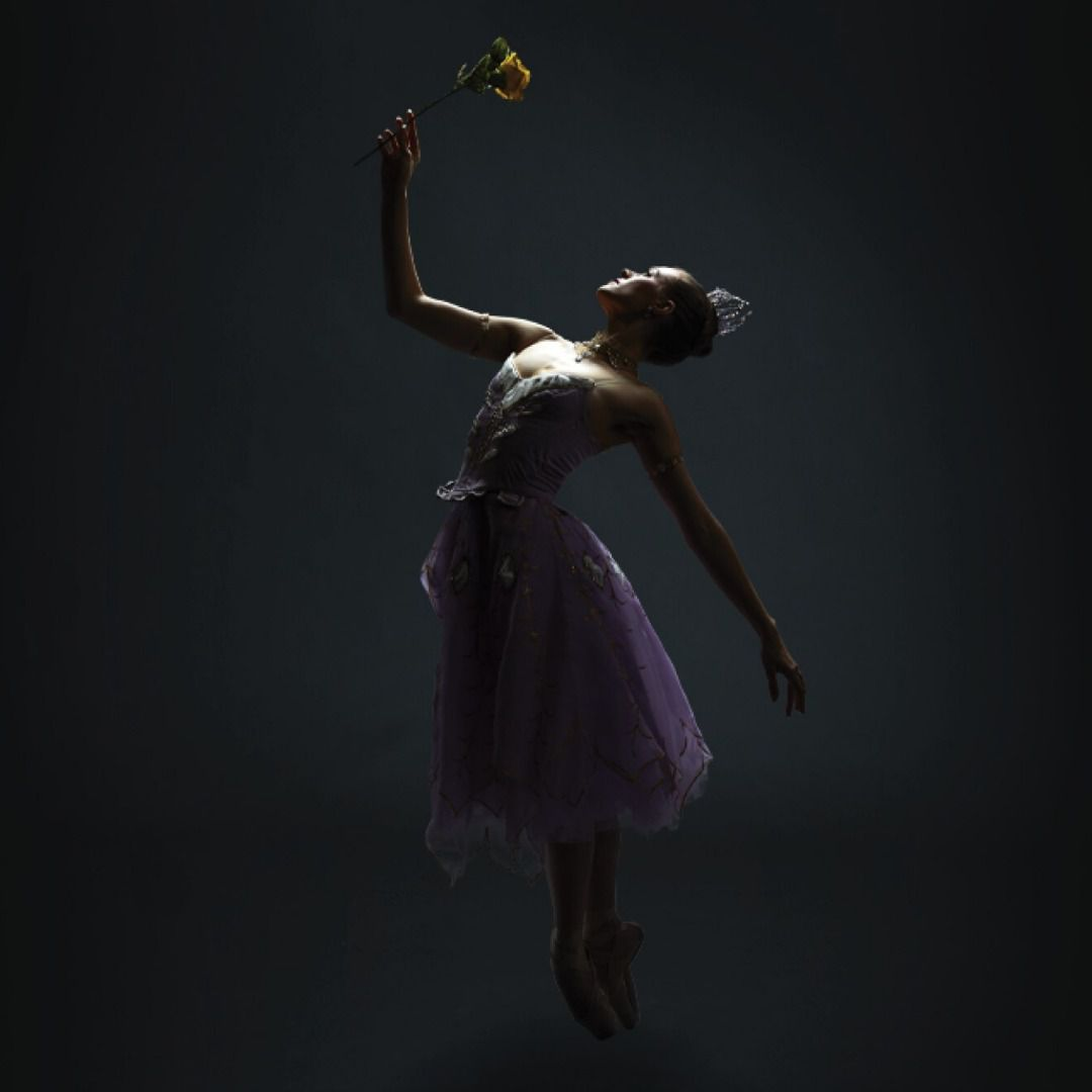 """Texas Ballet Theater's Paige Nyman in """"Beauty and the Beast."""""""