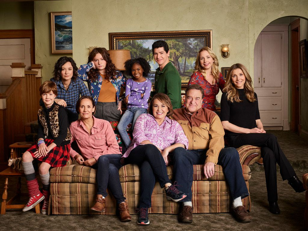 Although its politics are making headlines, Roseanne is really a family sitcom about ... family.