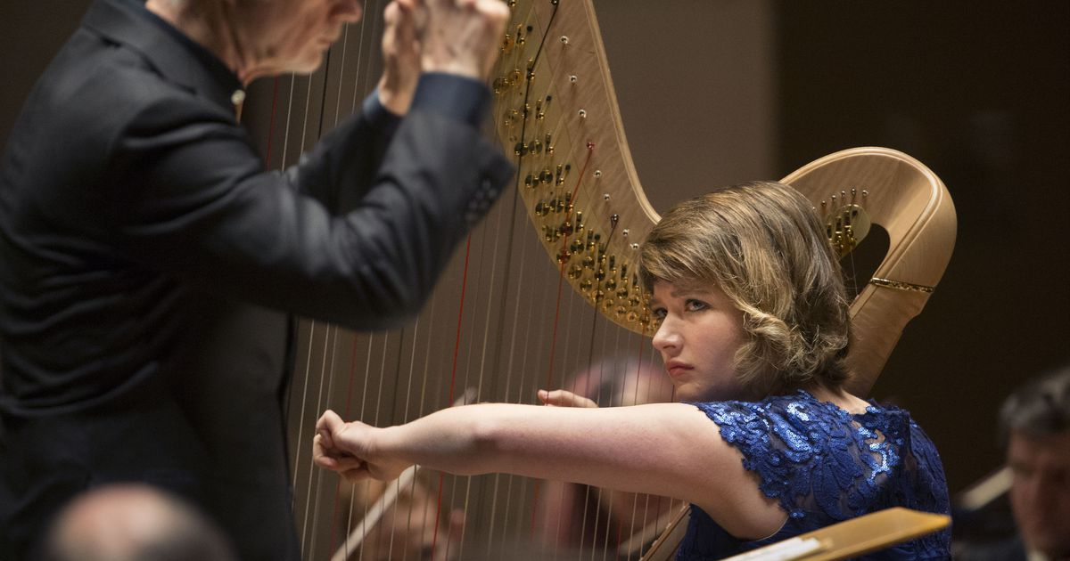 If you think harps are 'soft' instruments, the Dallas Symphony's Emily Levin begs to differ