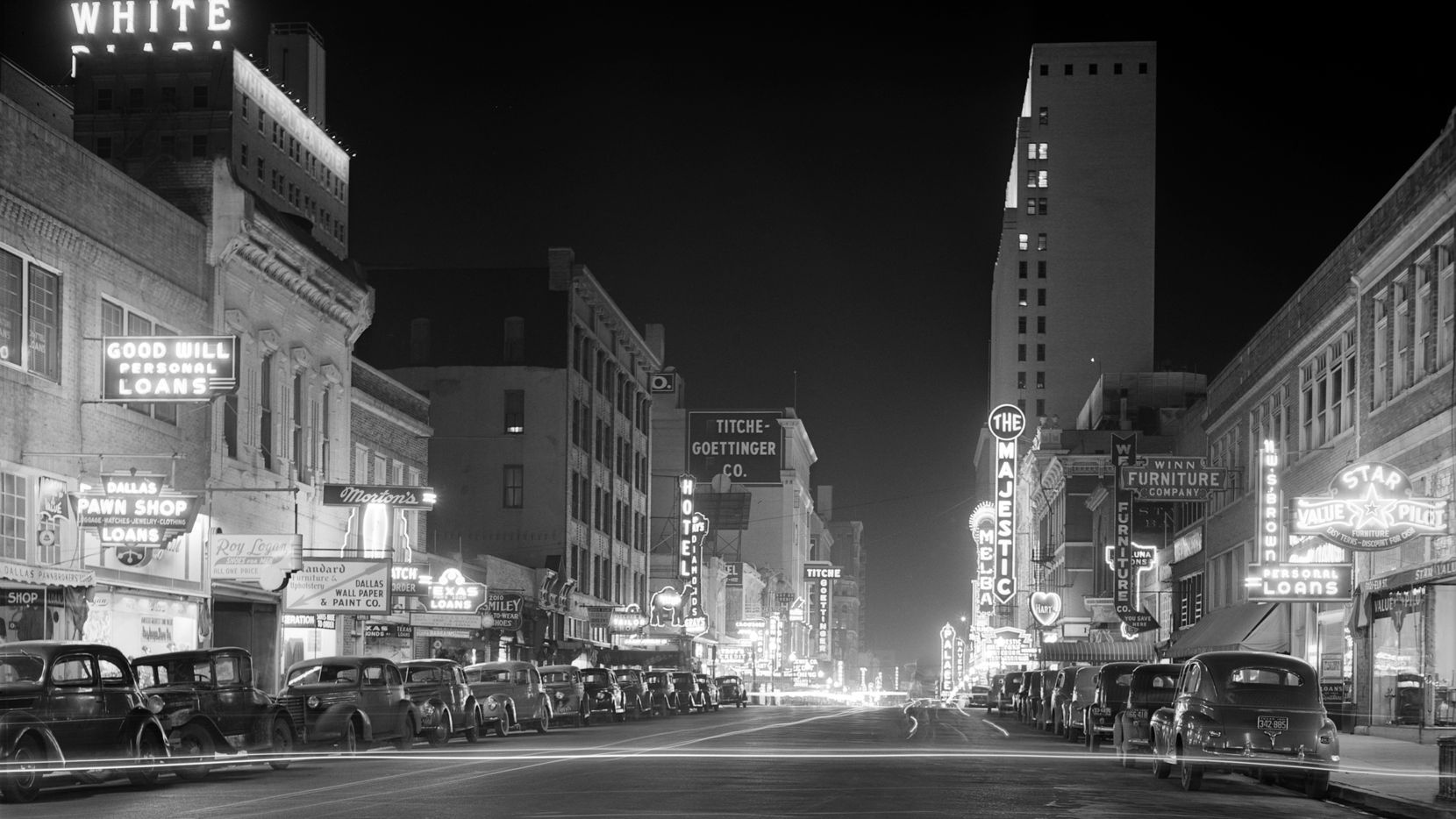 In the early 20th century, Elm Street was downtown Dallas' entertainment hub with theaters, restaurants and bars.