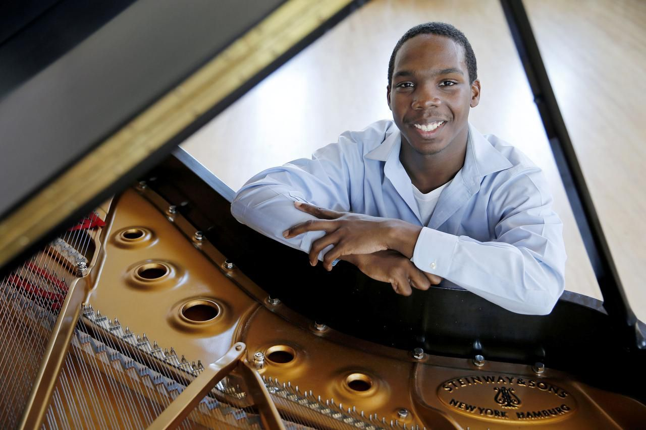 Quinn Mason, a North Dallas High School graduate, began writing his first symphony at age 11.