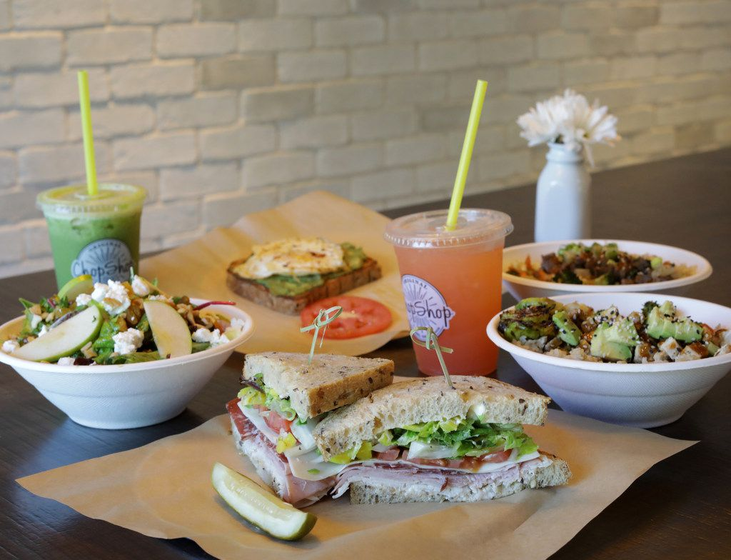 Some of the food available at Original Chop Shop in Plano, TX, on Jun. 13, 2019. (Jason Janik/Special Contributor)