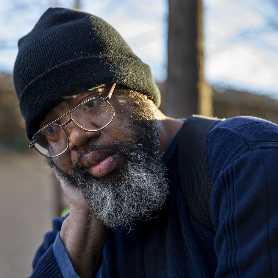 Randy returned to The Bridge Homeless Recovery Center on Jan. 24, 2020, after discovering that his hard-sought Cityplace apartment had been broken into and burglarized.