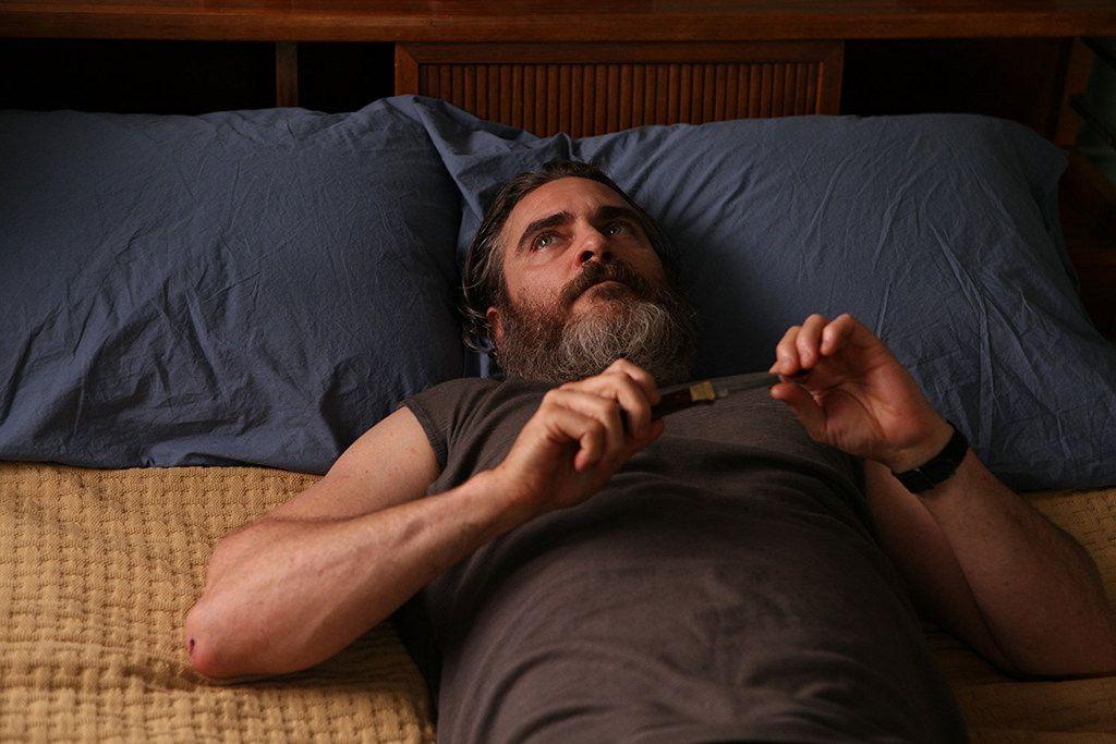 "Joaquin Phoenix in ""You Were Never Really Here."" (Amazon Studios)"