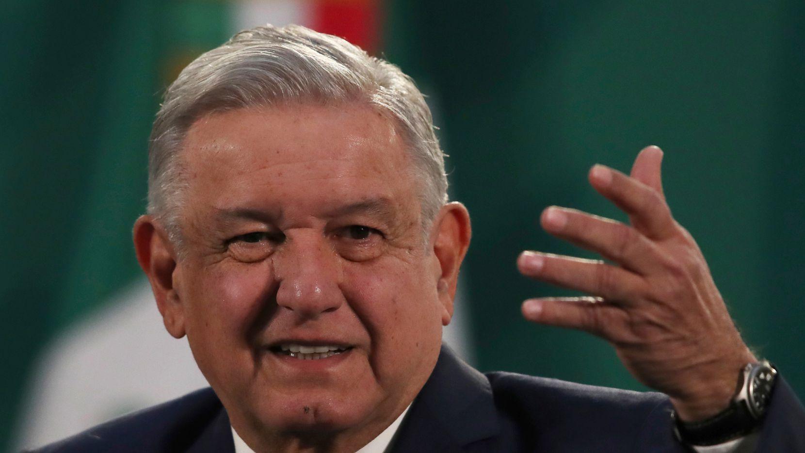 El presidente mexicano Andrés Manuel López Obrador reapareció en sus conferencias de prensa matutinas tras dos semanas de ausencia por contagio de covid-19.