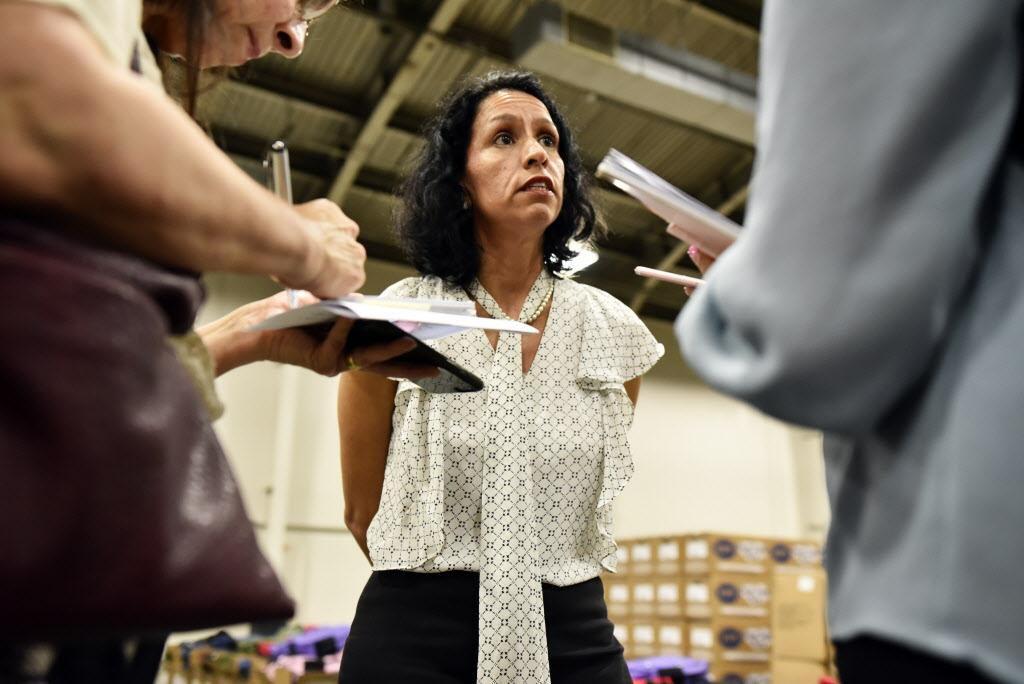 Liz Cedillo, directora de la oficina de Comunidades y Asuntos Migratorios de Dallas. (ESPECIAL PARA AL DÍA/BEN TORRES)