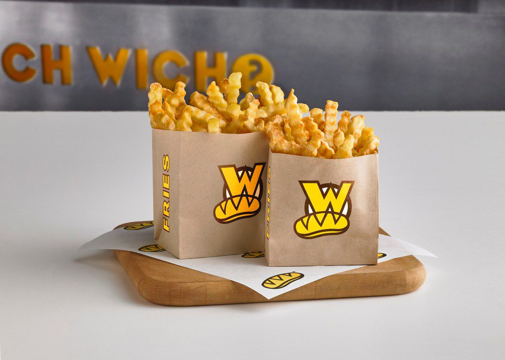 Which Wich started selling crinkle-cut French fries at its restaurants on July 15, 2019. Most sandwich shops don't sell fries.