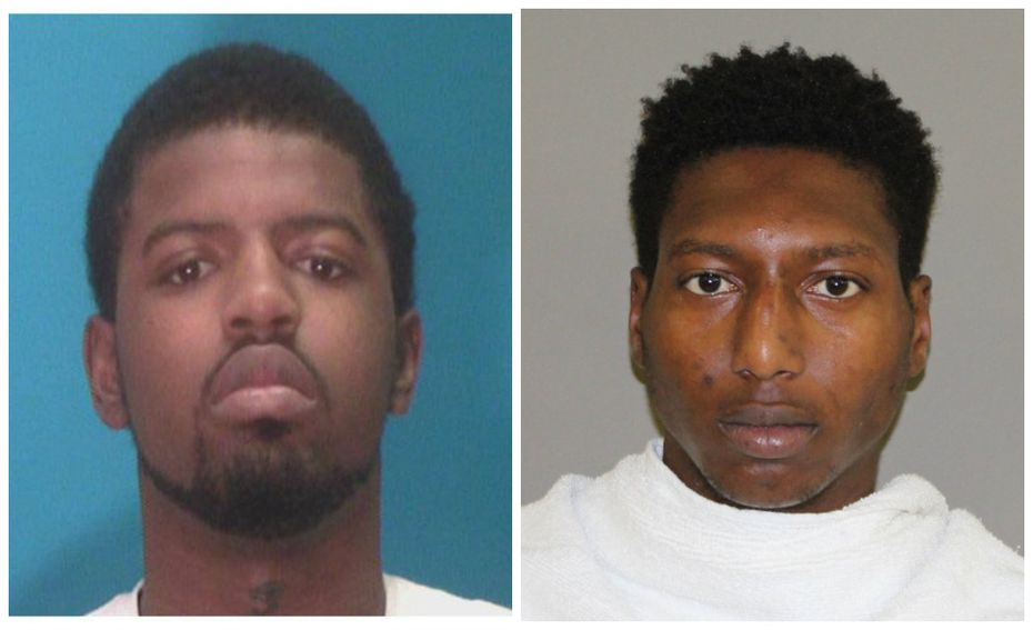 Kwame Juwanzaa Mickels (left) and Jamarque Jamez Washington both face charges in a deadly shooting at a Lewisville convenience store.