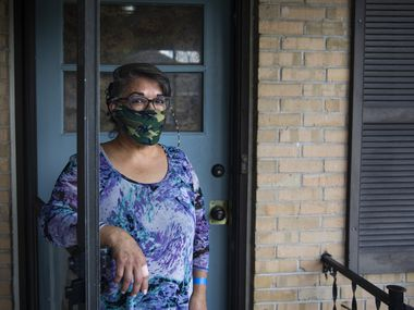 EneDina Rogers is one of the many North Texans who are fearful of being evicted from their homes due to the pandemic's strain on the economy.