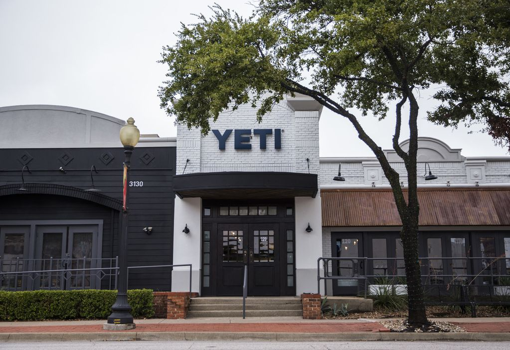 The exterior of a new Yeti store on Knox St. in Dallas. The grand opening will be this Saturday. (Ashley Landis/The Dallas Morning News)