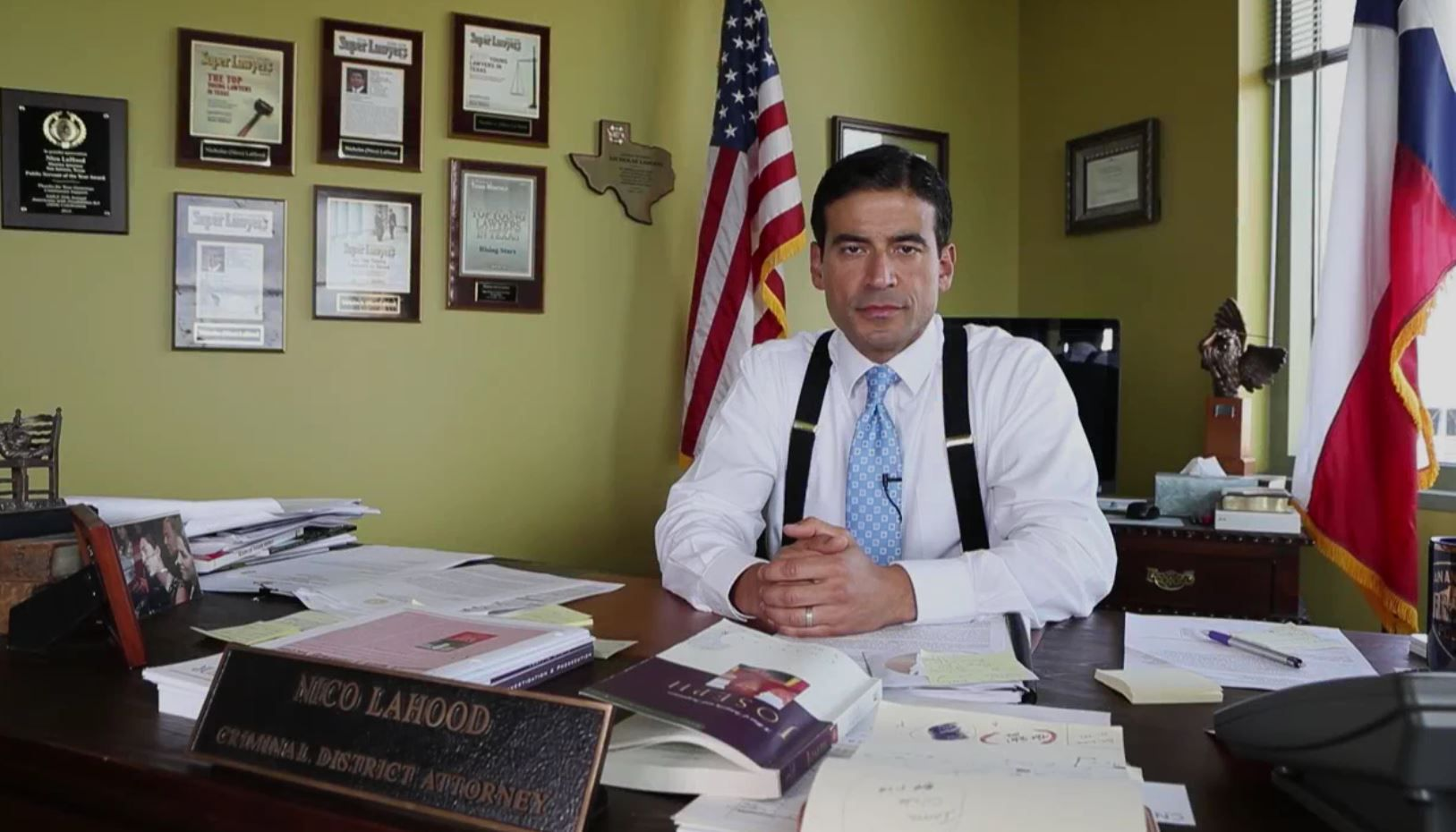 Bexar County District Attorney Nico LaHood is siding with those who say vaccines cause autism.