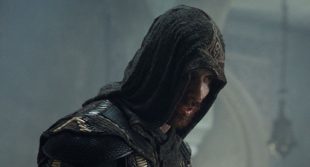 """Michael Fassbender is Callum Lynch, who experiences the adventures of his ancestor, Aguilar, in the film """"Assassin's Creed."""""""