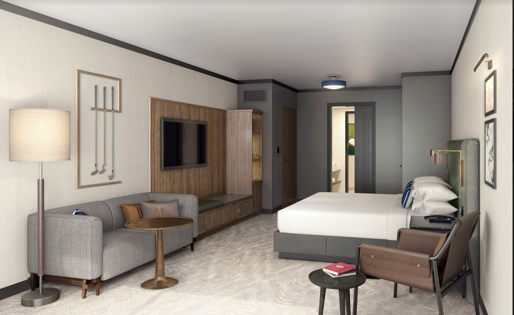 Jeffrey Beers International is the interior design firm for the new Frisco hotel and resort.