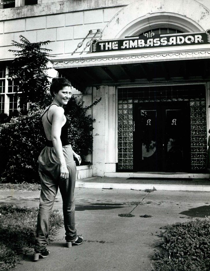 """September 23, 1979: """"There's a real mix of people here"""" at the Ambassador Hotel, says Claudia Fisher."""