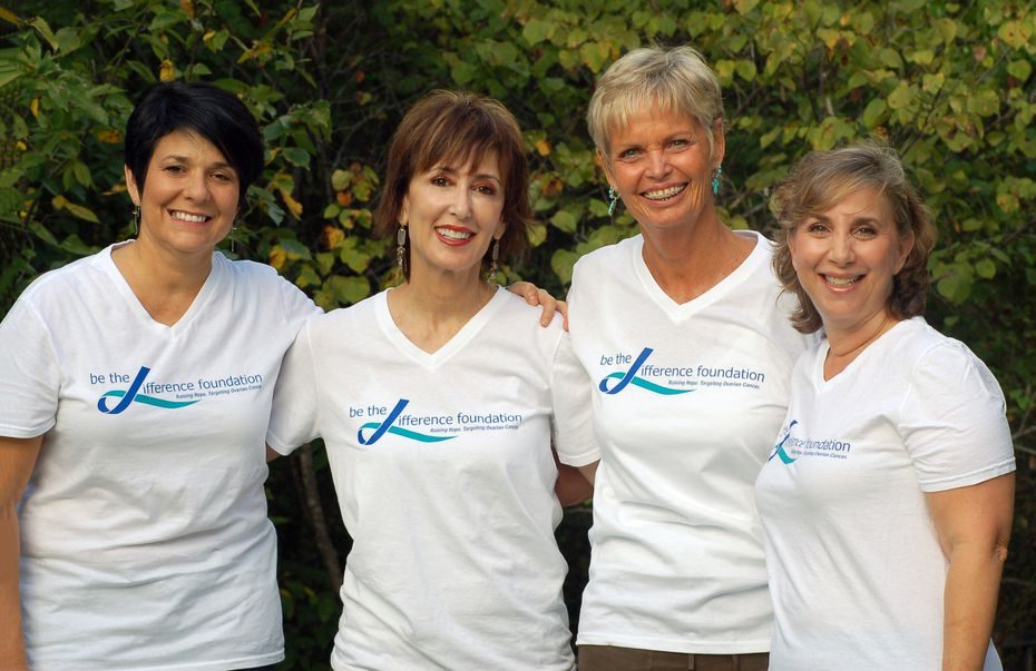 Be the Difference Foundation was created by (from left) Jill Bach, Helen Gardner (who died in 2014), Lynn Lentscher and Julie Shrell.