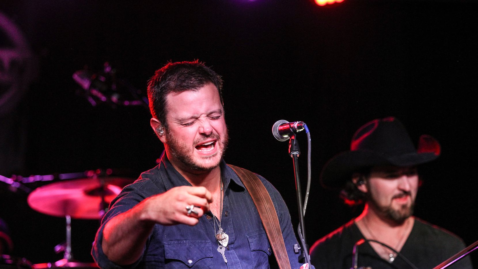 Wade Bowen performs during the 16th Annual Americana Music Festival & Conference at the Mercy Lounge on Sept. 17, 2015 in Nashville, Tennessee.