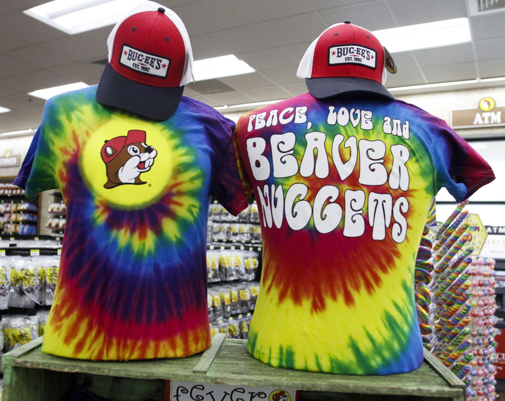 One of the many t-shirts you can buy at Buc-ee's in Terrell