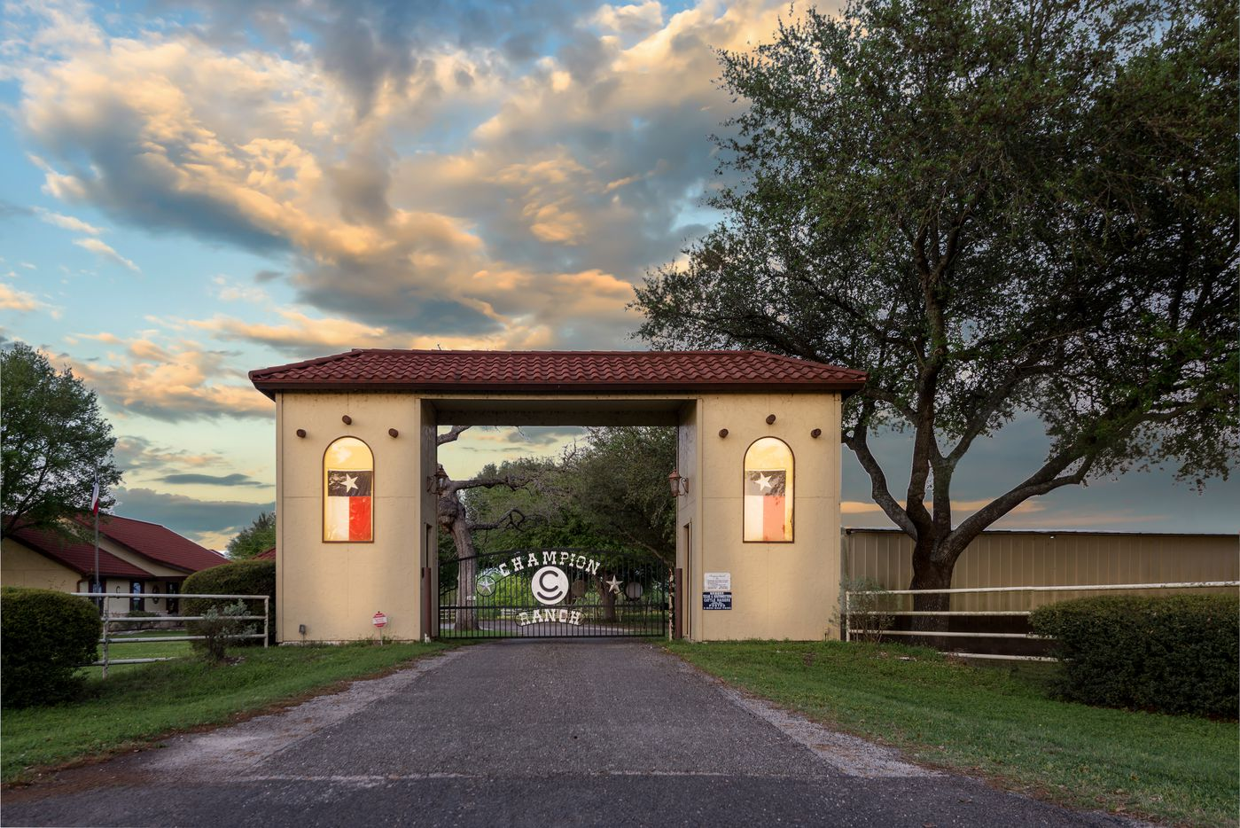 Dick Wallrath's Champion Ranch is between Dallas and Houston.