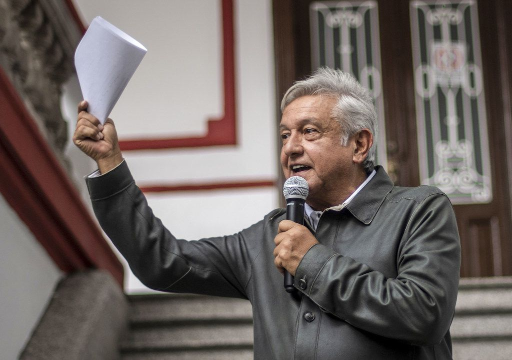 Mexico's President-elect Andres Manuel Lopez Obrador's Mexico-first rhetoric stirred fears about the fate of NAFTA. But he's taken a more conventional stance in favor of the deal of late.