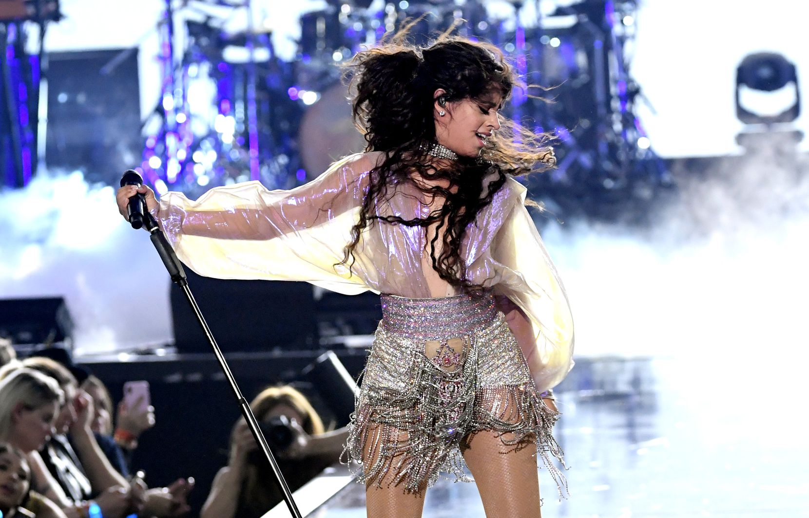 Camila Cabello performs onstage during the 2019 iHeartRadio Music Festival at T-Mobile Arena on Sept. 20, 2019 in Las Vegas.
