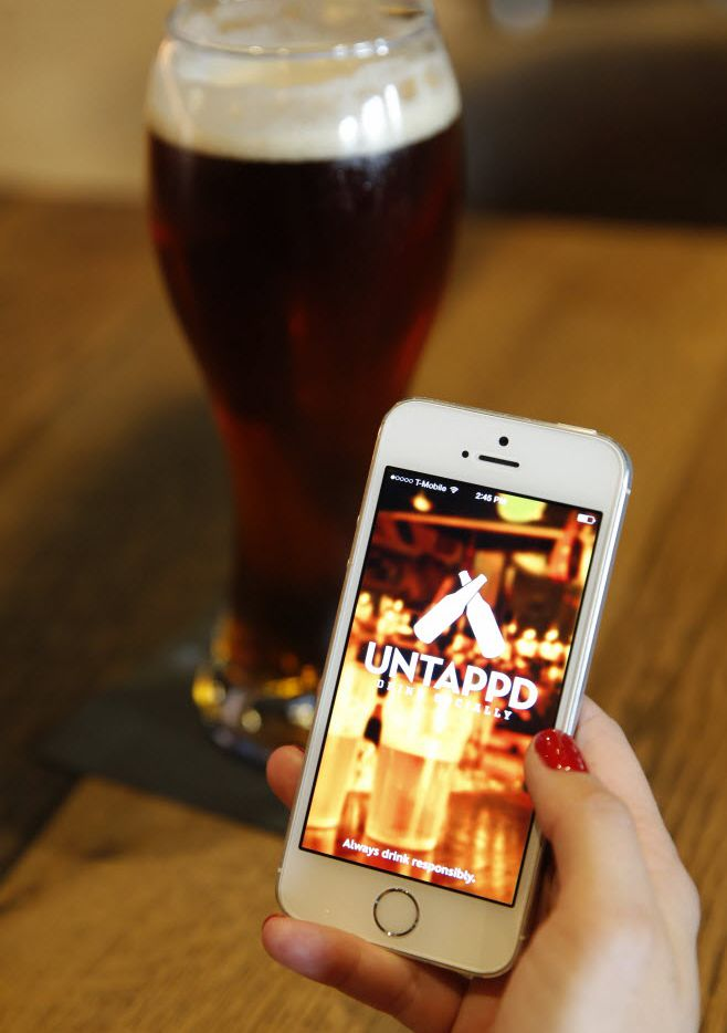 Untappd is one of the most popular apps among beer nerds because it lets user log their drinks and toast others, like a social media platform.