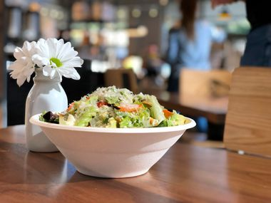 Original ChopShop's raw vegetable salad is light and bright.