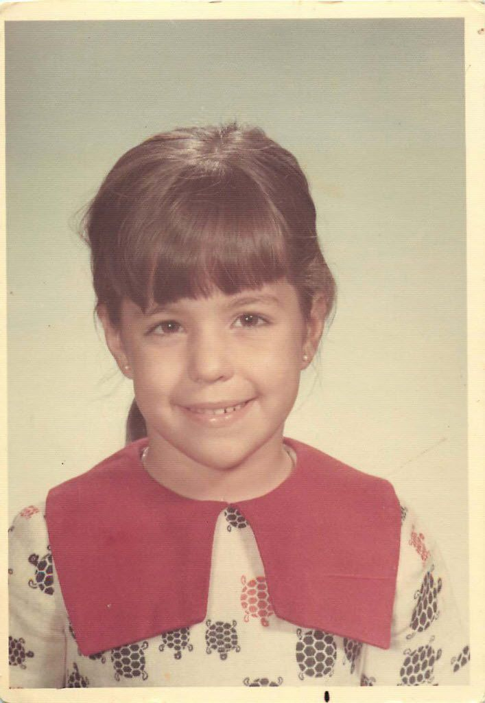 Special to The Dallas Morning News - Yvette Ostolaza 1st grade school picture (School Picture)