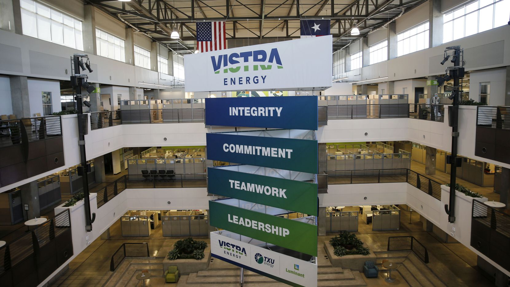 Vistra Corp. headquarters in Irving.