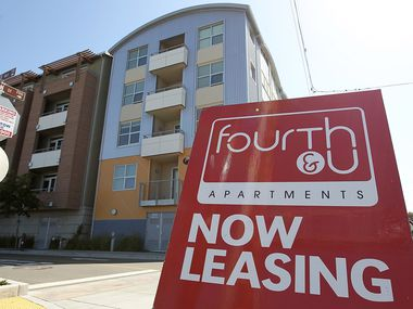Apartment rents are sharply higher in many major U.S. metro areas.