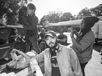 "Dallas filmmaker Merced Elizondo shot his new 33-minute movie, ""Manos De Oro (Hands of Gold),"" over six days in Oak Cliff."