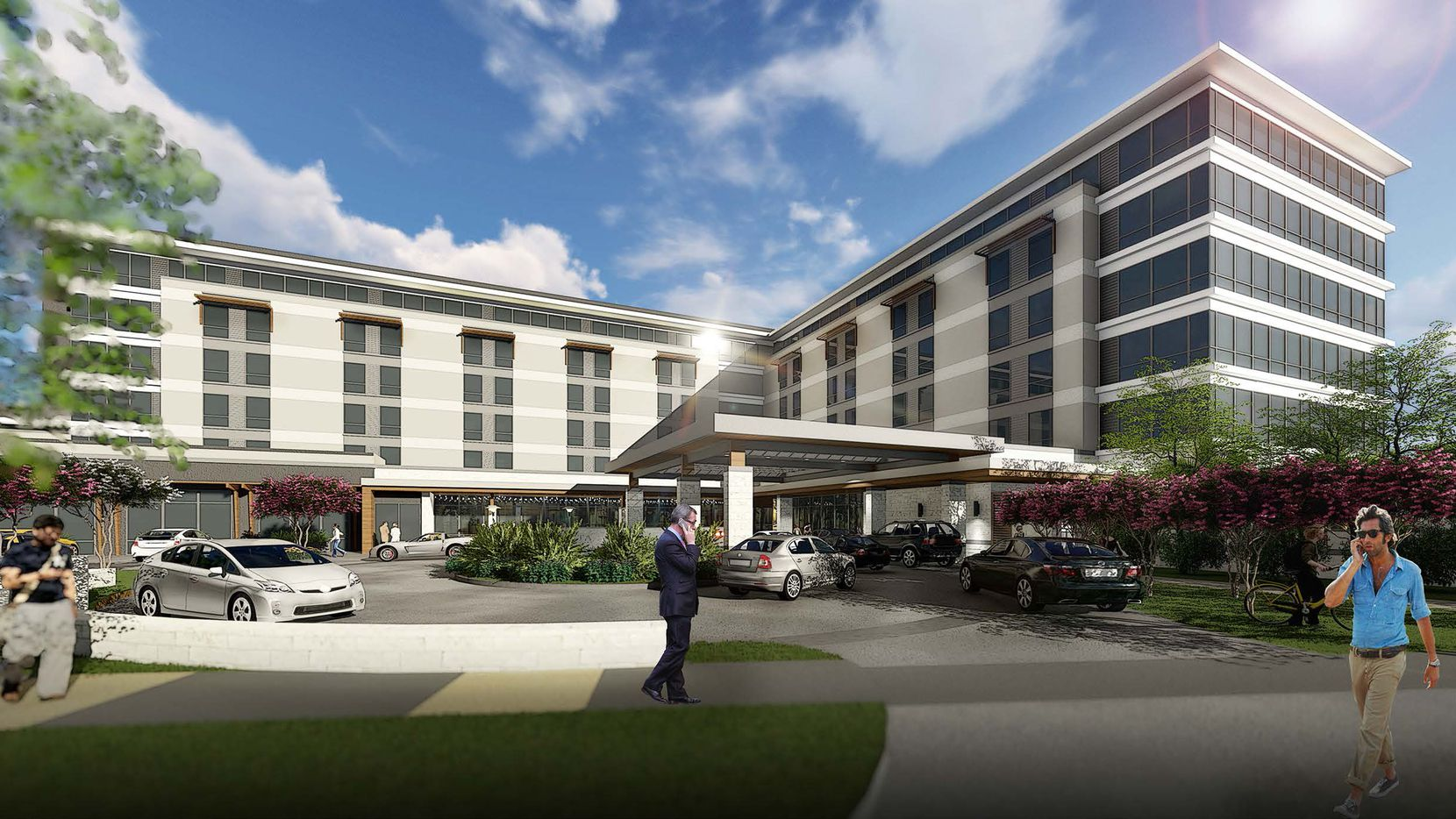 The 240-room Marriott Delta Southlake hotel will open next year.