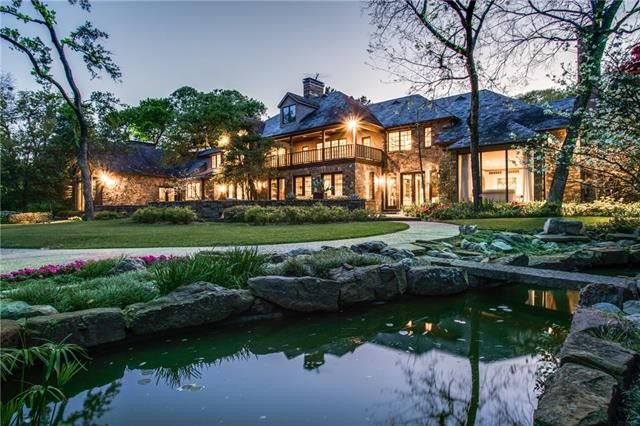 This estate on Meadowood Drive in North Dallas is listed at $7.8 million. The average listing on Meadowood is $7.2 million, making it the most expensive residential street in Dallas, according to a new report from Homes. com.