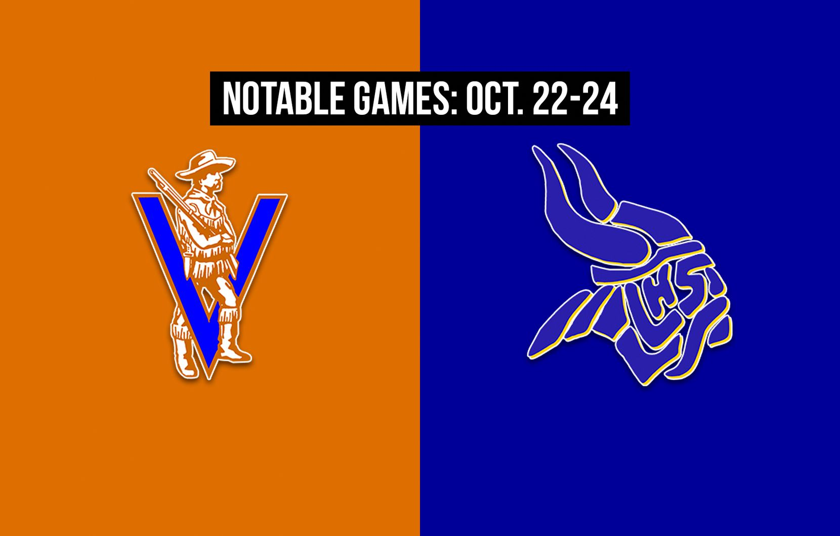 Notable games for the week of Oct. 22-24 of the 2020 season: Arlington Bowie vs. Arlington Lamar.