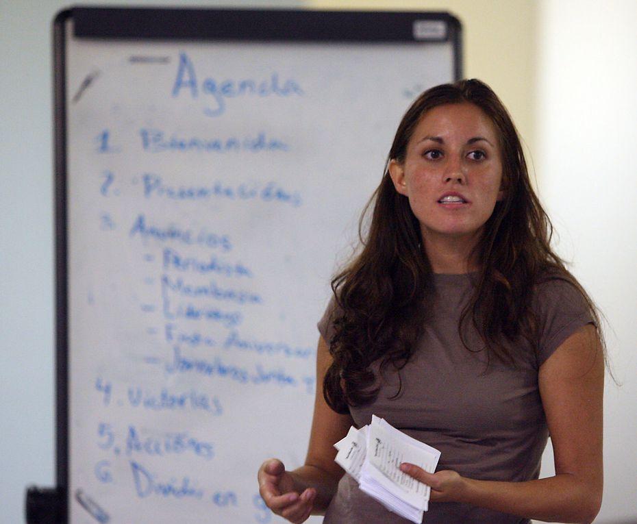 Cristina Tzintzun Ramirez is a Democratic Party candidate for Senate.