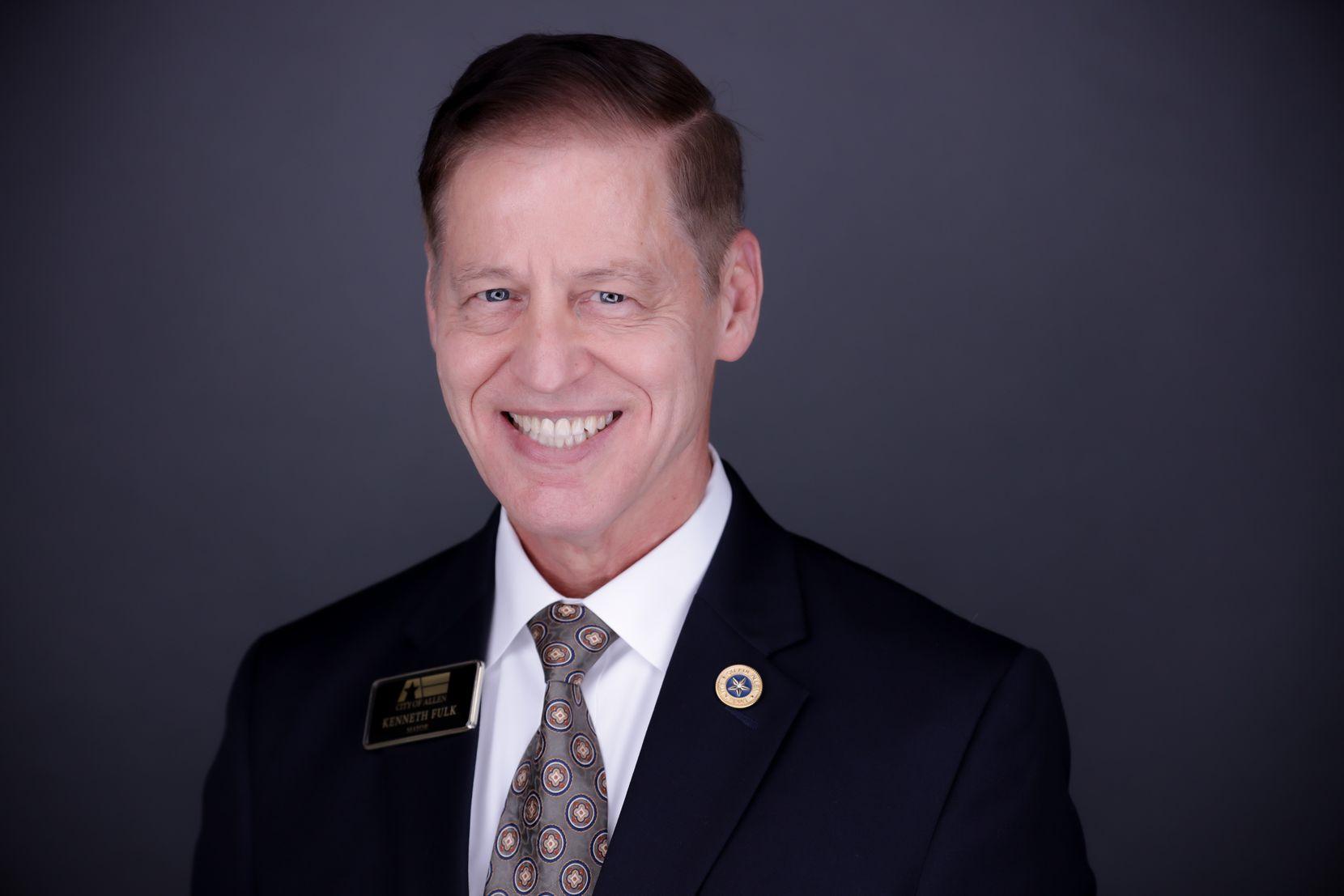 Ken Fulk is Allen's 10th mayor.