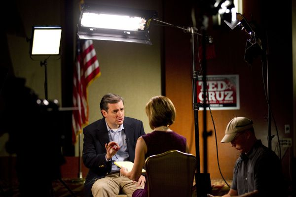 Ted Cruz, sitting down for a TV interview Wednesday, will be an instant star in Washington, Republican senators predict.